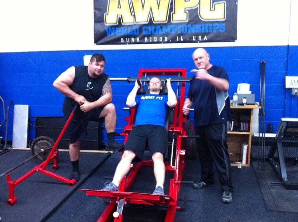 Deadlift leg press and squat rack